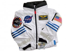 ISS Astronaut White Space suit by Galactic Gear