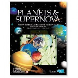 Glow Planets and Stars Supernova (100 pieces)