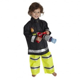 Firefighter dressing up outfit age 3-6 years