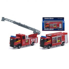 Die Cast Fire Engine with Lights & Siren