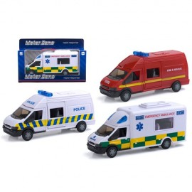 Motor Zone Rapid response van with lights and siren
