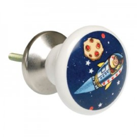 Spaceboy ceramic drawer knob