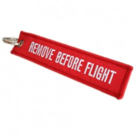 Remove Before Flight Keyring