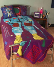 Science Museum Astronaut Design Reversible Single Duvet Set