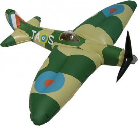 Inflatable Supermarine Spitfire